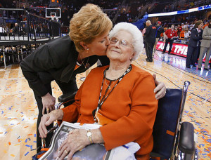 Pat Summitt and Mother