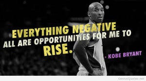 Kobe Bryant about people