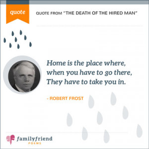 Quote About Home - Famous Family Quotes