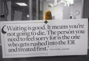 This should be posted in every Medical facility.