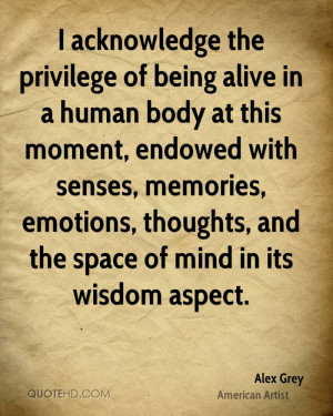 Alex Grey Wisdom Quotes