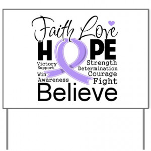 ... hope gifts faith love hope yard signs faith hope general cancer yard