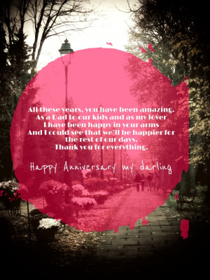 Short Anniversary Quotes for Husband with red picture