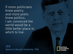 JFK on the Arts