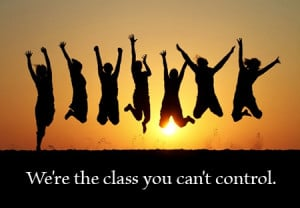 are the class you can't control.