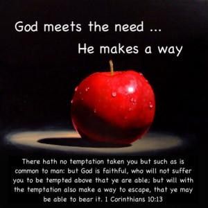 bible quotes photo: 1 Cor 10:13 ...