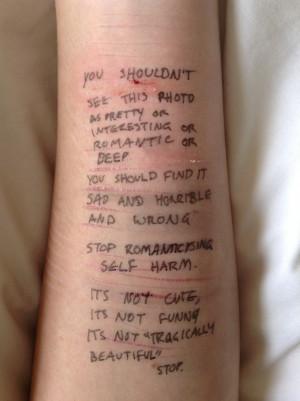 ... cutting quotes wrist cutting tumblr self harm cutting techniques self