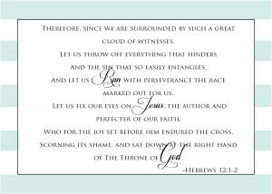 Hebrews 12.1 2 Bible Verse