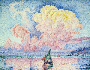 paul signac antibes le nuage rose description paul signac 1863