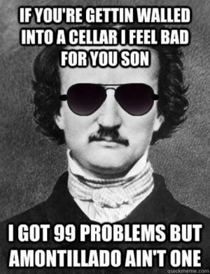 99 Poe Problems Check out more funny pics at killthehydra.com