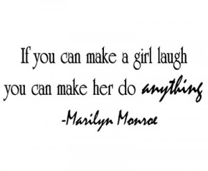 IF-YOU-CAN-MAKE-A-GIRL-LAUGH-Marilyn-Monroe-Wall-Quote-Vinyl-Sticker ...