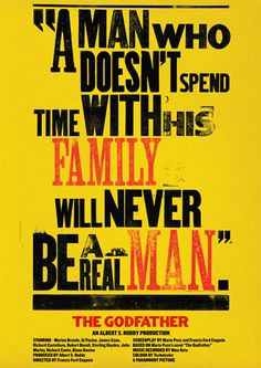 ... family quotes a real man god father the godfather quotes fathers