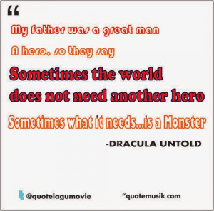 movie quotes- dracula untold