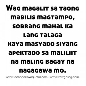 Kapag Nagmahal Ka – Selos Quotes Tagalog