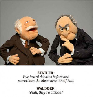 Statler and Waldorf commentary