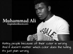 Muhammad ali respect quotes