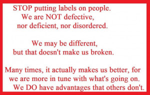 ADD, ADHD, OCD, education, HSP, quotes, children, mental health,Adhd ...