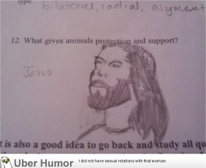 Not sure if my biology teacher will appreciate this or not…