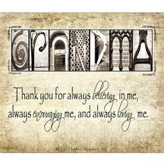 love quotes for grandmothers more grandma gifts mothers day quotes for ...