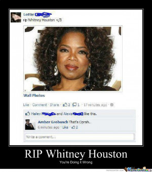 Related Pictures whitney houston is dead pictures