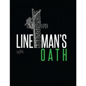 Lineman Quotes 262 Lineman Oath