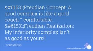 Inferiority Complex Quotes
