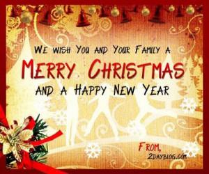 Merry Christmas Greeting - Christmas Greetings Words - Merry Christmas ...