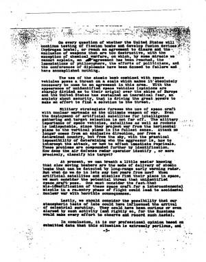 Robbert Oppenheimer & Albert Einstein's Draft Letter To Senior US ...