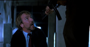 Hans Gruber : This time John Wayne does not walk off into the sunset ...