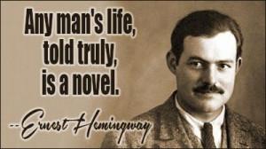 Ernest hemingway quote famous