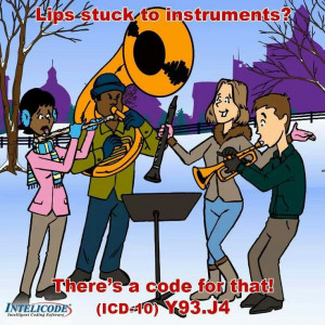 Coding ICD-10 humor