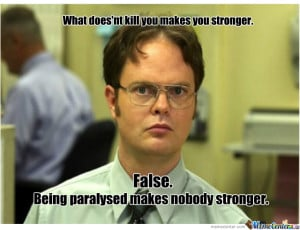 Dwight Schrute False Quotes