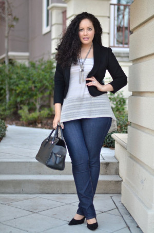 Rock & Roll} REAL Curvy Girl inspiration from Tanesha Awasthi, her ...