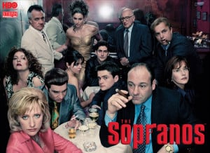 ... The Sopranos are: an inseparable family, (with a dash of depravity