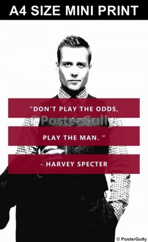 Play the man...
