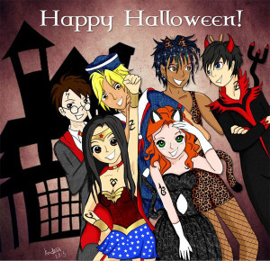 Happy Halloween to all you Shadowhunters out there!