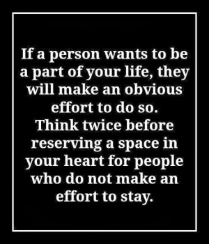 ... before reserving a space in your heart for people who do not make an