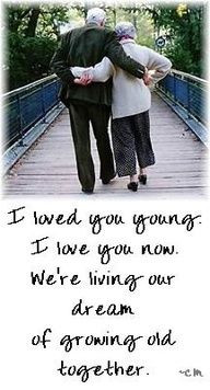 It seems like just yesterday,we said come grow old with me?! More
