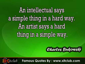 You Are Currently Browsing 15 Most Famous Quotes By Charles Bukowski