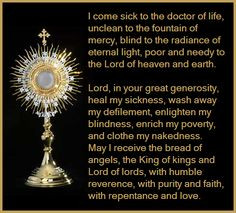 come sick to the Doctor of Life…St. Thomas Aquinas