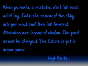 Learn from mistakes quotes and moving on
