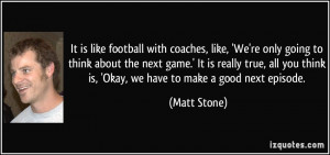 Funny Football Coach Quotes