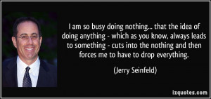 More Jerry Seinfeld Quotes