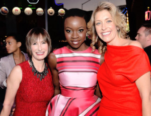 Gale Anne Hurd, Danai Gurira and Denise M. Huth at the Season 5 ...