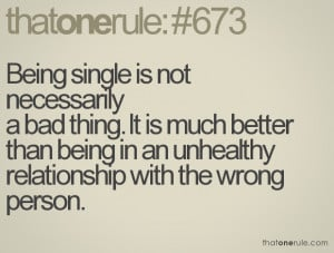 Bad Relationship Tumblr Quotes Necessarily a bad thing.