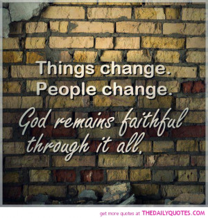 Things Change People Quotes