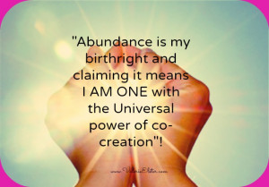Here are some Example Affirmations