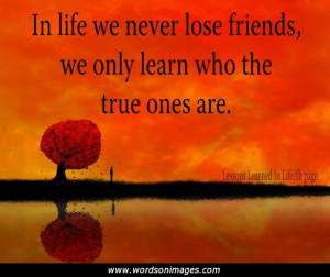 quotes about losing a friend
