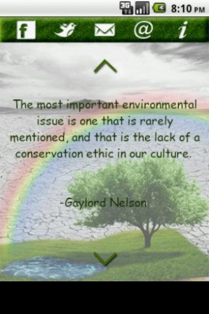 green quotes environmental