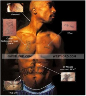 Tupac Shakur Tattoos 2